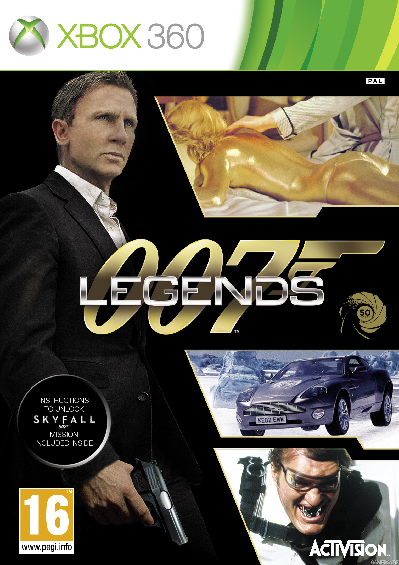 Capa Conquistas E Foto De 007 Legends Confirmam 007 Contra Goldfinger No Game